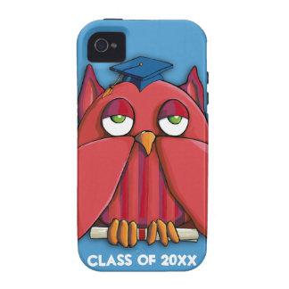 Case mate vermelha Tough™ do iPhone 4 do aqua do Capa Para iPhone 4/4S