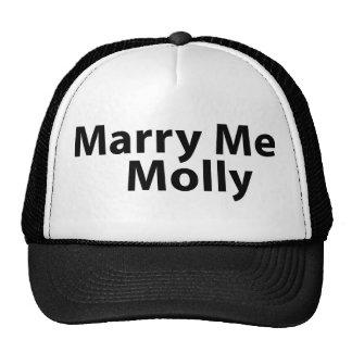 Case-me chapéu de Molly Boné