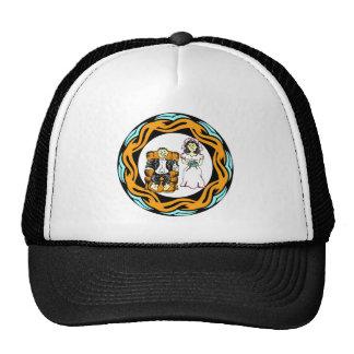 Case um chapéu/boné do vencido boné