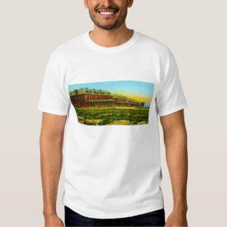 Casernas do tijolo camisetas