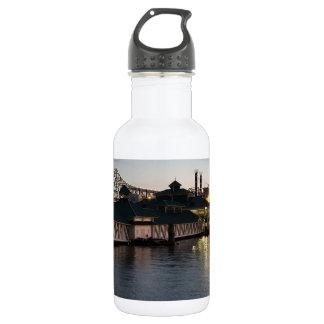 Casino na garrafa de água do rio Mississípi