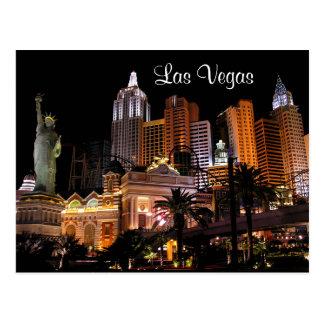 Casinos da tira de Las Vegas, cartão de Nevada