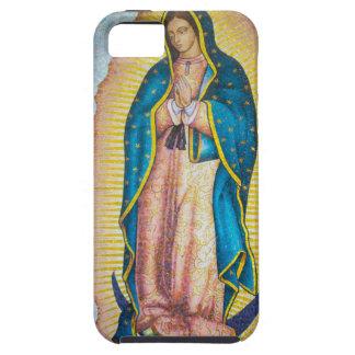 Caso 5S religioso vibrante do iPhone 5/do ícone Capa Tough Para iPhone 5