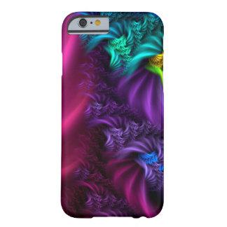 Caso abstrato da arte do Fractal do roxo Capa Barely There Para iPhone 6