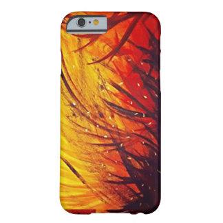 Caso abstrato da pintura capa barely there para iPhone 6