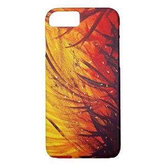 Caso abstrato da pintura capa iPhone 7