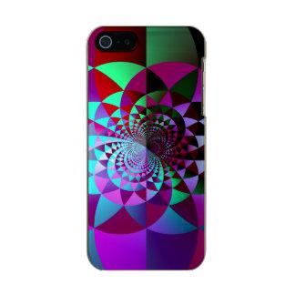Caso abstrato do iPhone 5 do Harlequin Capa Incipio Feather® Shine Para iPhone 5