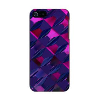 Caso abstrato moderno do iPhone 5 Capa Incipio Feather® Shine Para iPhone 5