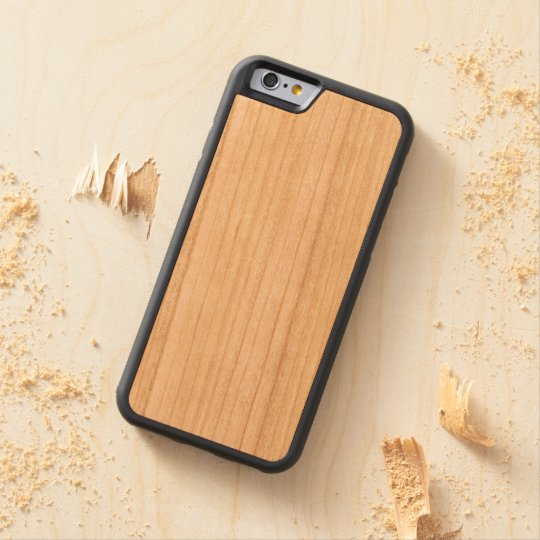 iPhone 6/6s Bumper Cerejeira Wood Case