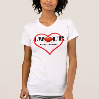 Caso amoroso-está meu Camisa-Roupa do valentine/ Camiseta