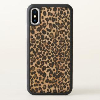 Caso animal do impressão do leopardo de Brown