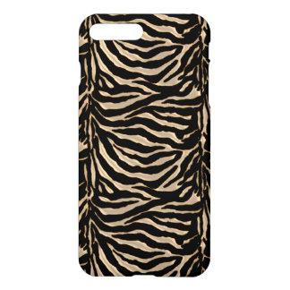 Caso animal do iPhone 7 da zebra metálica do ouro Capa iPhone 7 Plus