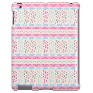 Caso asteca cor-de-rosa na moda do iPad do teste Capa Para iPad