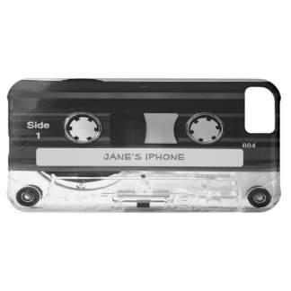 Caso audio do iPhone 5C da cassete de banda Capa Para iPhone 5C