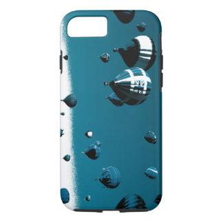 Caso azul esverdeado engraçado de IPhone 7 do Capa iPhone 7