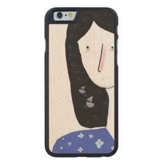 Caso bonito de IPhone 6 S da ilustração