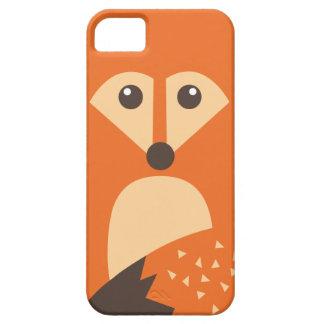 Caso bonito do iPhone 5/5S do caráter do Fox Capa Para iPhone 5