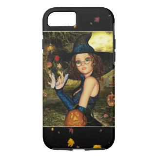 Caso bonito do iPhone 7 da menina da bruxa do Capa iPhone 7