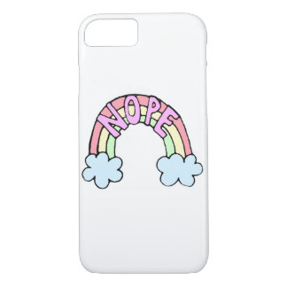 Caso bonito engraçado do iPhone 7 do arco-íris Capa iPhone 7