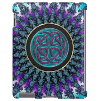 Caso brilhante do iPad do Fractal celta Capa Para iPad