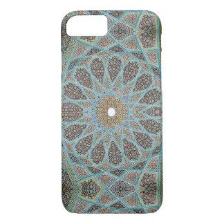 Caso cerâmico marroquino do teste padrão capa iPhone 7