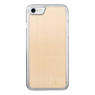 Caso cinzelado do iPhone 7 magros da cereja Capa iPhone 7 Carved