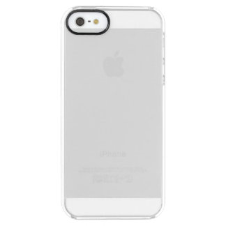Caso claro do iPhone 5 feitos sob encomenda Capa Para iPhone SE/5/5s Clear