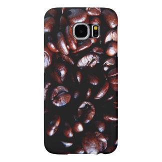 Caso com feijões de café capas samsung galaxy s6