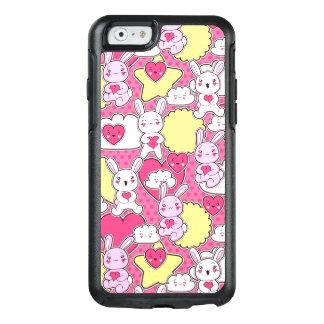Caso cor-de-rosa bonito do iPhone 6/6s de OtterBox