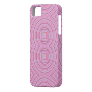 Caso cor-de-rosa do design capa para iPhone 5