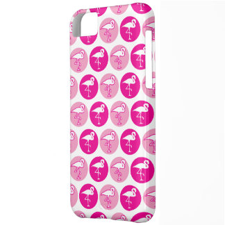 Caso cor-de-rosa do iPhone 5 do flamingo Capa Para iPhone 5C