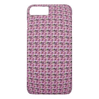 Caso cor-de-rosa do iPhone 7 do teste padrão da Capa iPhone 7 Plus
