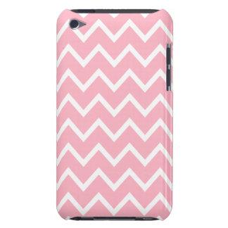 Caso cor-de-rosa do ipod touch G4 de Chevron da Capa Para iPod Touch