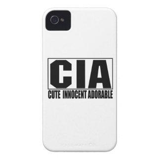 Caso corajoso adorável inocente bonito do CIA Capinhas iPhone 4