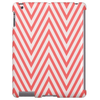 Caso coral do iPad de Chevron Capa Para iPad