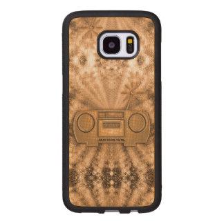 Caso da borda da galáxia S7 de Samsung do bordo - Capa De Madeira Para Samsung Galaxy S7 Edge