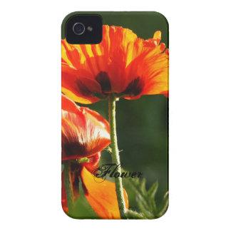 Caso da identificação do iPhone 4/4S da flor Capinhas iPhone 4