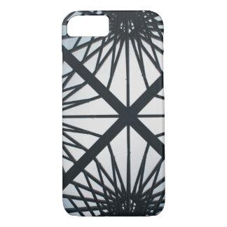 Caso da textura da grade capa iPhone 7