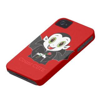 Caso de Cute® Blackberry da contagem Capa Para iPhone 4 Case-Mate