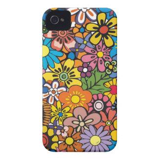 Caso de flower power capinha iPhone 4
