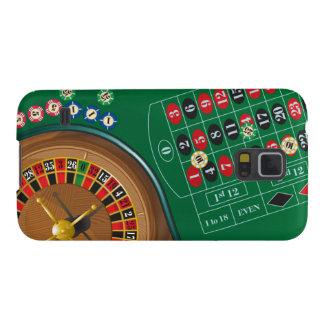 Caso de jogo do nexo da mesa do casino da roleta capa para galaxy s5