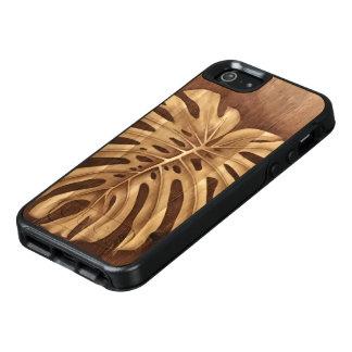 Caso de madeira de Otterbox da arte da mancha de