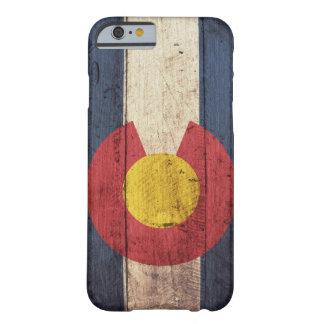 Caso de madeira do iPhone 6 da bandeira de Capa Barely There Para iPhone 6