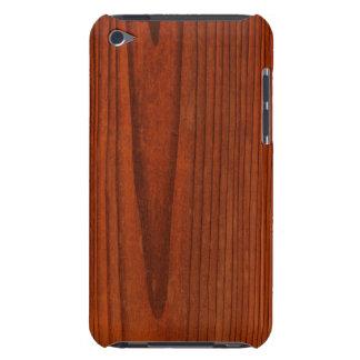 Caso de madeira do ipod touch G4 do teste padrão Capa Para iPod Touch
