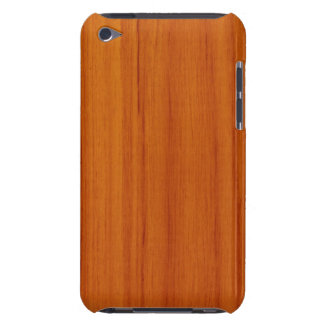 Caso de madeira lustrado do ipod touch G4 do teste Capa Para iPod Touch