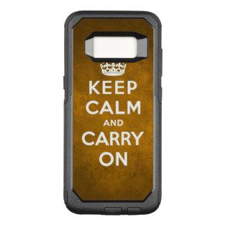 Caso de Otterbox Capa OtterBox Commuter Para Samsung Galaxy S8