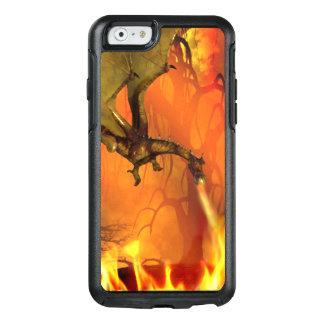 Caso de respiração do iPhone 6S de Otterbox do