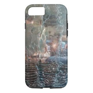 Caso de vidro rachado do iphone 7 capa iPhone 7