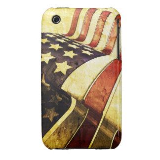 Caso do blackberry curve do design da bandeira capas para iPhone 3 Case-Mate