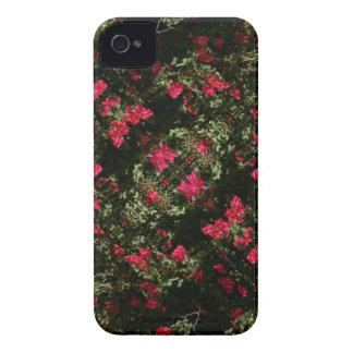 Caso do design da flor de Admiro Capa Para iPhone 4 Case-Mate